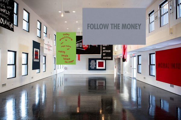 Word on the Street House of Trees banner art exhibition