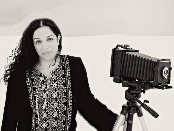 artist Sama Alshaibi