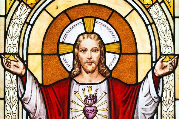 jesus with halo