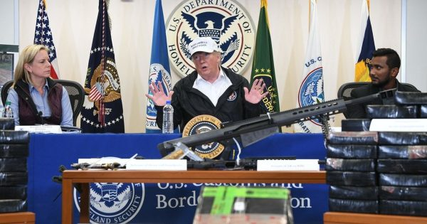 Donald Trump McAllen Texas guns