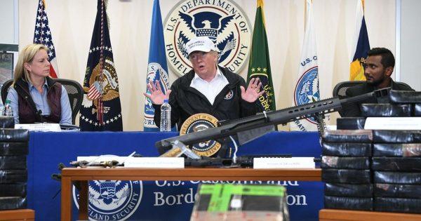 Donald Trump McAllen Texas guns