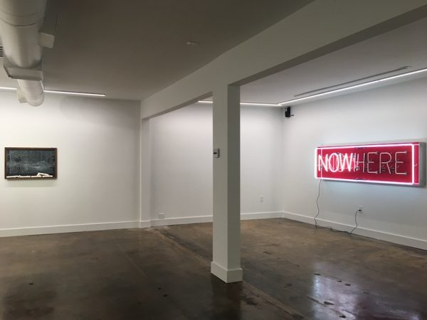 One of The MAC's galleries in the new space.