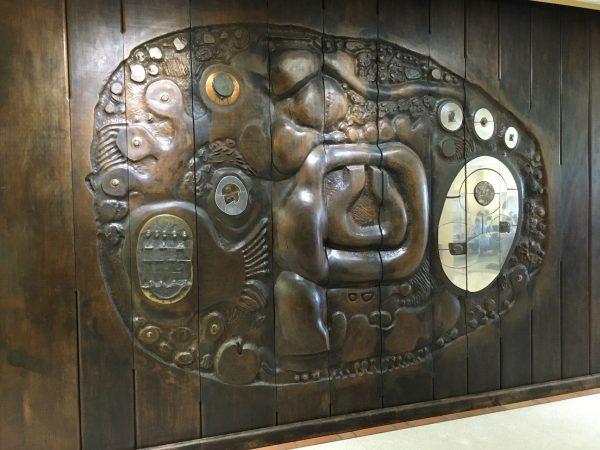 Artwork by Charles Pebworth at Sam Houston State University