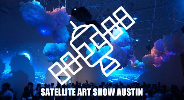 Austin Texas Satellite Art show during SXSW