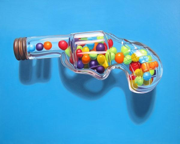 Shannon Cannings, I Want Candy, Blue, 2018.