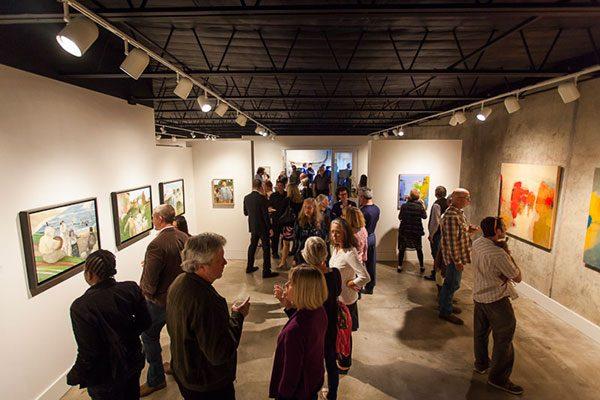 Gallery Shoal Creek art space in Austin Texas