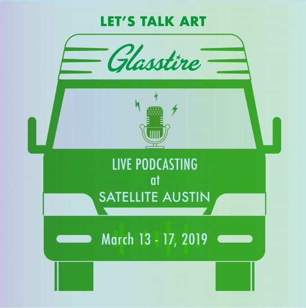 Glasstire at the Satellite art fair in Austin Texas 2019