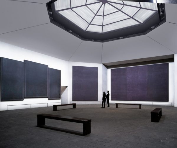 Houston Texas Rothko Chapel Rendering of Redevelopment