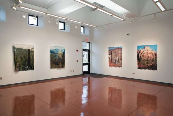 Installation view of Charlie Kitchen's solo show at Palo Alto College in San Antonio