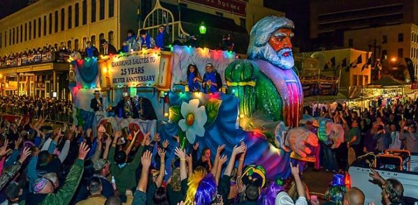 Mardi Gras in Galveston Texas