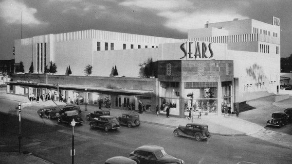 Midtown Sears building in Houston Texas