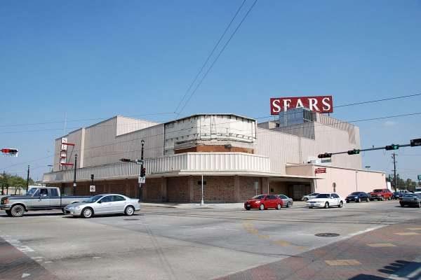 Midtown Sears building in houston Texas