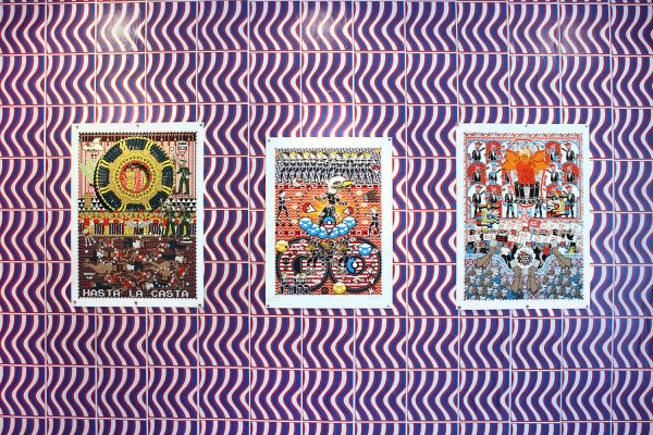 art by San Antonio artist Michael Menchaca
