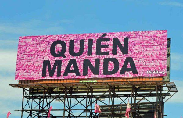 giovanni valderas pinata billboard art