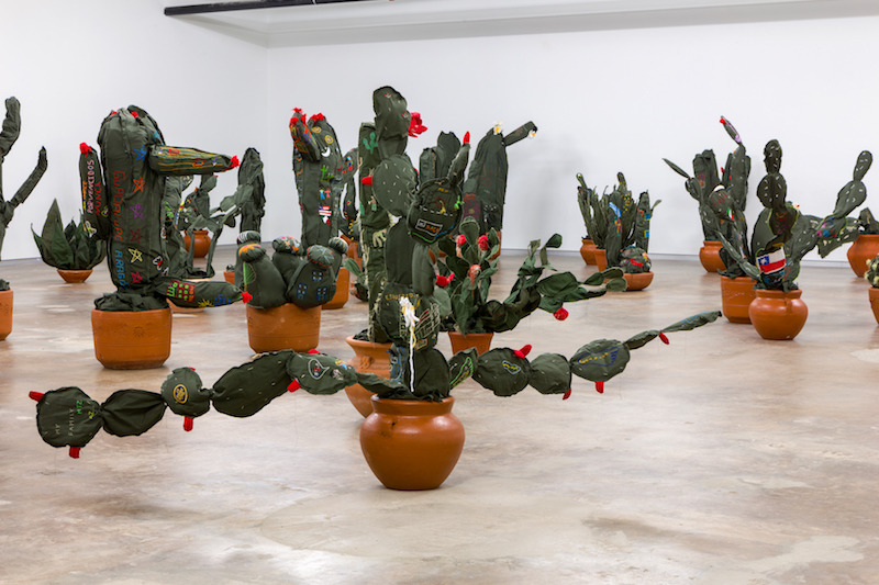 Margarita Cabrera's installation at Dallas Contemporary