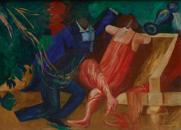 JOSÉ CLEMENTE OROZCO (Mexican, 1883–1949) Mannikins 1930 Oil on canvas