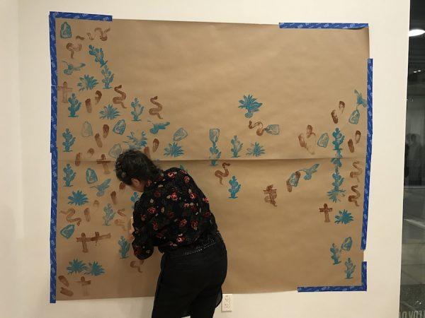 Artist led community program with Monica Villarreal