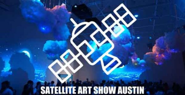 Austin Satellite art fair during SXSW