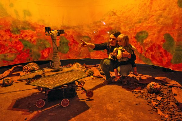 Awol Gallery installation, MARE TENEBRARUM, at the Satellite Art Show.