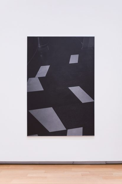 "Dirk Braeckman, B.O.-D.F.-17, 2017, Gelatin silver print, 70 7/8 x 47 ¼"""