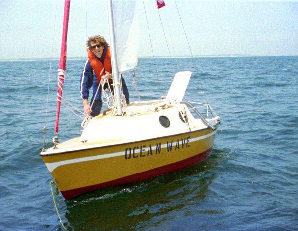 Bas Jan Ader disappearing artwork on boat