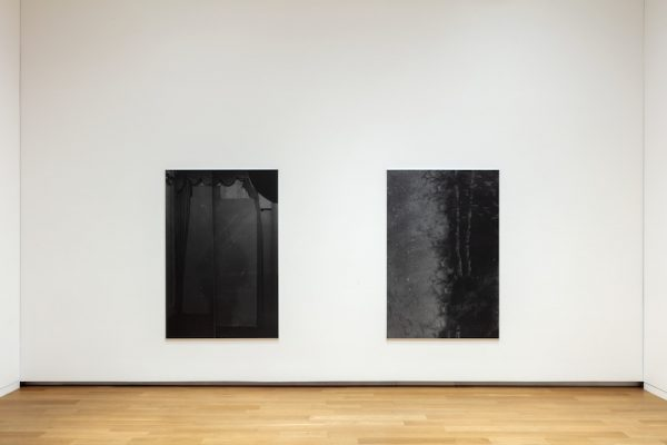 Installation view of Dirk Braeckman's Focus exhibition at the Modern Art Museum of Fort Worth, 2019