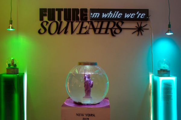 Future Souvenirs art installation at the Satellite art show in Austin Texas 1