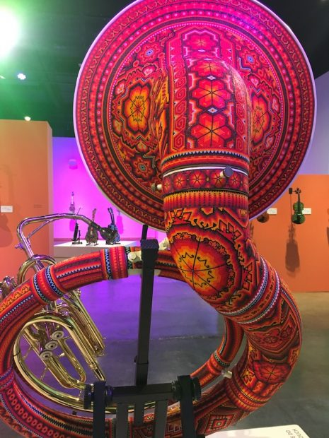 Installation view, Symphony of Color, International Museum of Art & Science