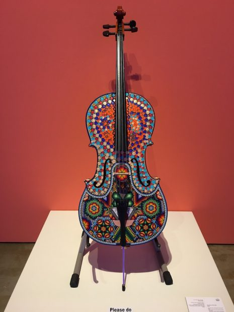 Installation view, Symphony of Color, International Museum of Art & Science (IMAS)