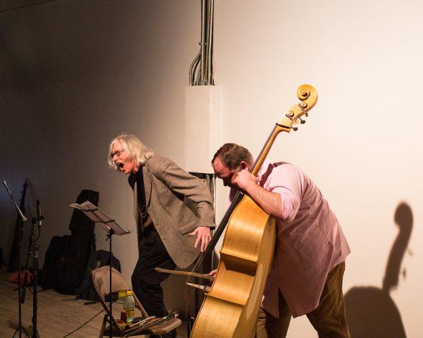 Jaap Blonk and Damon Smith