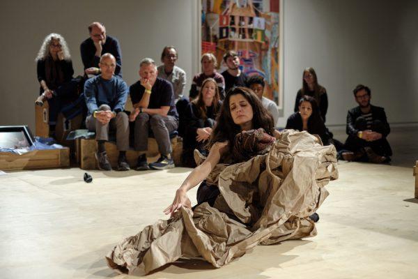 Janine Antoni Paper Dance for Contemporary Austin