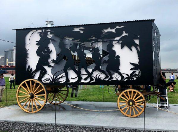 Kara Walker art at Prospect New Orleans
