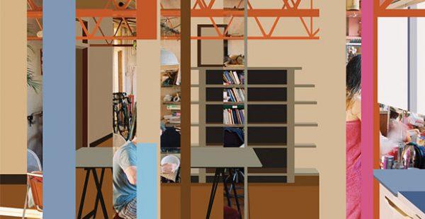 Michael Borowski- Home Reports art show in the SRO photo gallery in Lubbock Texas