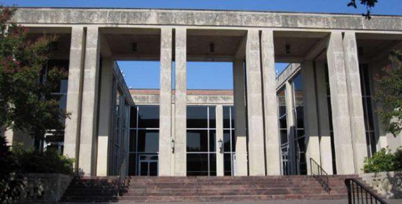 Owen Fine Arts Building SMU Campus