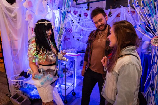 PLASTIQUE - Interactive art installation at the Satellite Art Show.