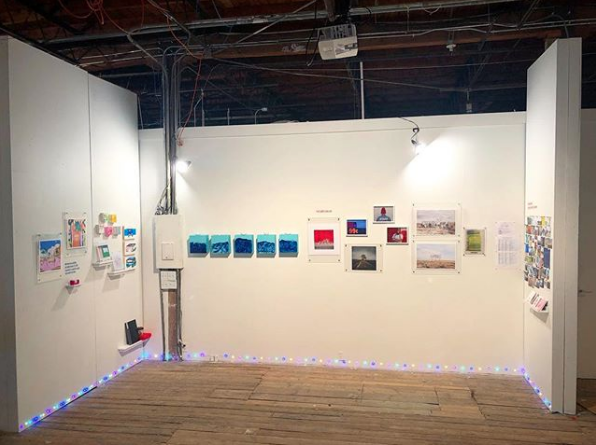 Treat Gallery at the Satellite Art Show in Austin Texas
