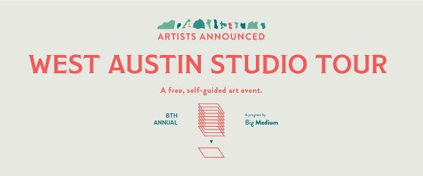 West Austin Studio tour 2019 presented by Big medium