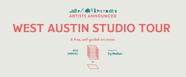 West Austin Studio tour 2019 presented by Big medium