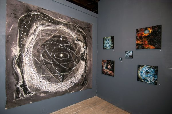 art by Ana Vizcarra Rankin at the Satellite art fair