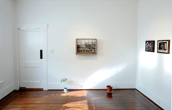Installation view of Nuestro Hogar, 2019, at Jonathan Hopson Gallery, Houston