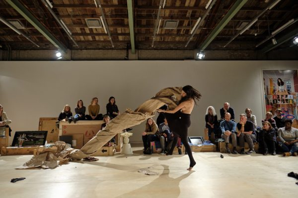 Janine Antoni Paper Dance for Contemporary Austin