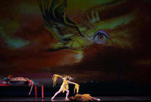 """Grimm Tales, """"The Juniper Tree,"""" at the Long Center for Performing Arts, 2019. Photo: Anne Marie Bloodgood."""