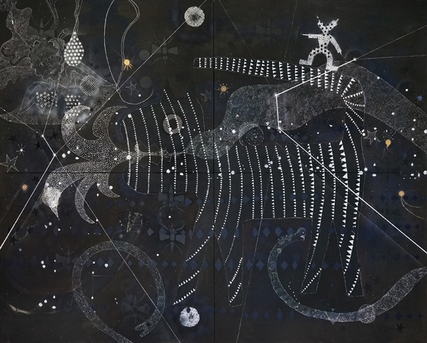 Gerardo Rosales, Cunaguaro - Constellation 2, from the series Looking for a Hero, 2019