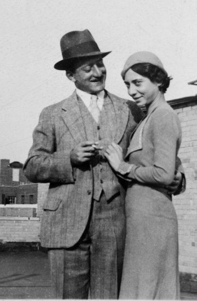 Adolph and Esther Gottlieb circa 1932