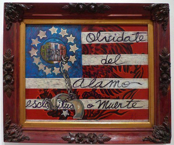 Raul Servin, Olvidate del Alamo (Forget the Alamo) #1, 2001