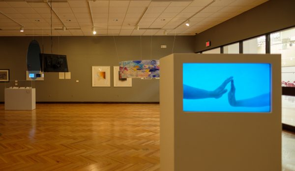 Installation view of the TTU Land Arts exhibition at TTU's Museum