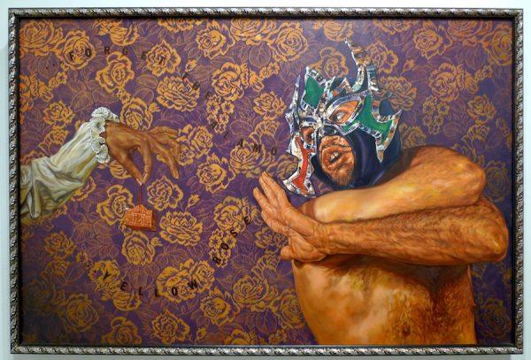 Ángel Rodríguez-Díaz ,Antifaz: Forget the Alamo. Yellow Rose (Antifaz: olvida El Álamo. Rosa amarilla), 2004