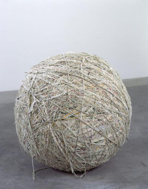 Analia Saban, The Painting Ball, 2005