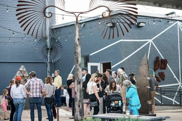 Dimension art Gallery in Austin Texas