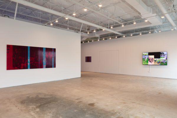 Installation view of Emmanuel Van der Auwera